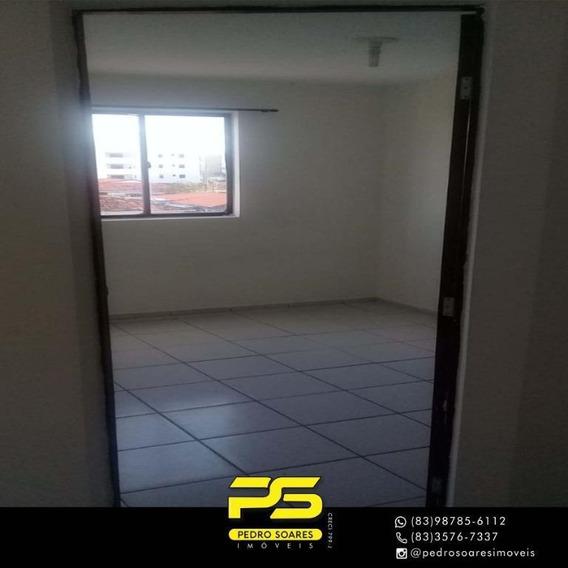 Apartamento Com 1 Dormitório Para Alugar, 35 M² Por R$ 600/mês - Jardim Cidade Universitária - João Pessoa/pb - Ap3257