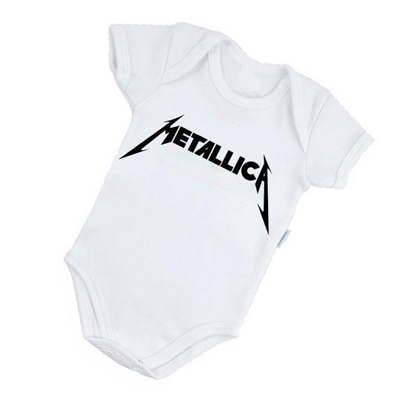 Body Personalizado Rock Banda Bore Bory Metallica B073br