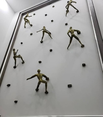 Escaladores Climbers Climbing Arte Gorditos Escultura Arte