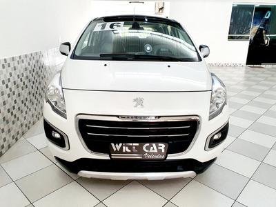 Peugeot 3008 Griffe 1.6 16v Thp 2016 Branco Único Dono
