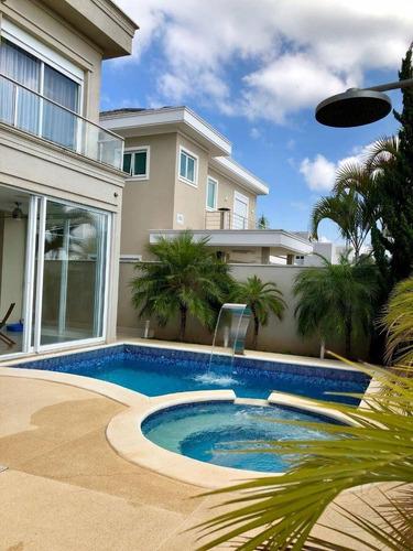 Casa Com 4 Dormitórios À Venda, 470 M² Por R$ 3.200.000,00 - Colinas Da Anhangüera - Santana De Parnaíba/sp - Ca0365