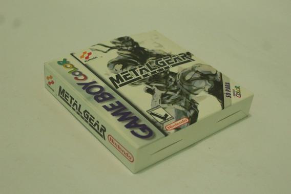 Jogo Metal Gear Solid Original Cib Gameboy Color Gbc Gba Gb