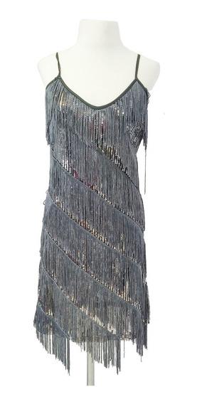 Vestido Corto De Lentejuelas. Art 9748