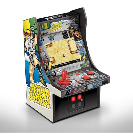 Mini Arcade Console Game My Arcade Heavy Barrel 3205