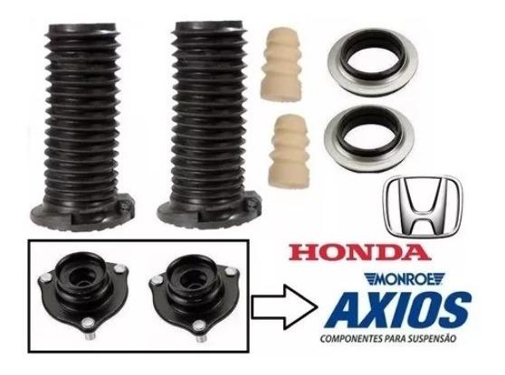 Kit Amortecedor Dianteiro Honda New Civic C/ Coxim Axios 2006 2007 2008 2009 2010 2011 2012 2013 2014 2015 2016 Todos