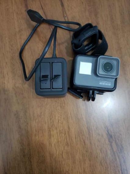 Gopro Hero 5 Black + Carregador + 2 Baterias + Relógio + Ass