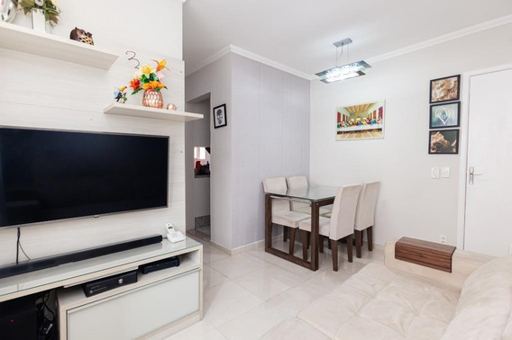 Apartamento Em Jardim Petrópolis, Cotia/sp De 46m² 2 Quartos À Venda Por R$ 145.000,00 - Ap617072