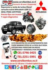 Reparación De Turbo Mitsubishi L200 4d56 2.5 Diesel Td04
