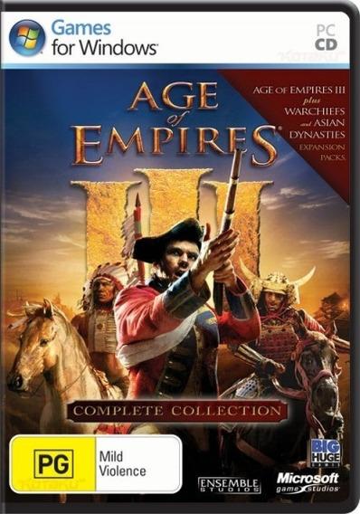 Age Of Empires Iii - Coleção Completa Pc Envio Imediato
