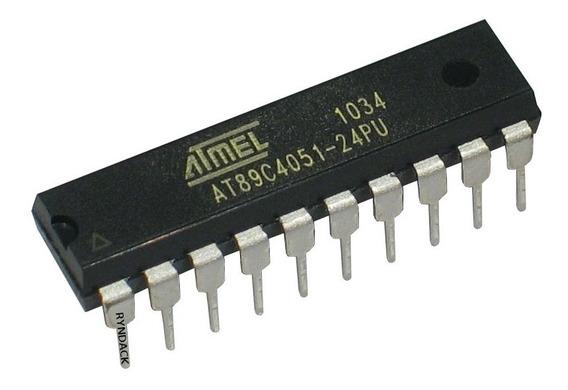 2 * Microcontrolador Atmel At89c4051 At89c4051-24pu 8051