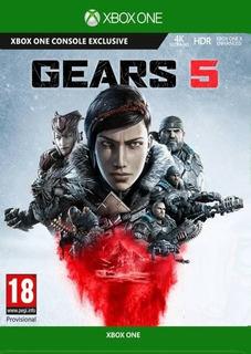 Gears Of War 5 Xbox One/pc Código Original Cta Rut