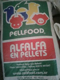 Pellets De Alfalfa P/caballos, Conejos X 40 Kg Caba