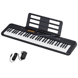 Organo Teclado Casio Cts100 61 Teclas 5/8 Usb Atril Fuente
