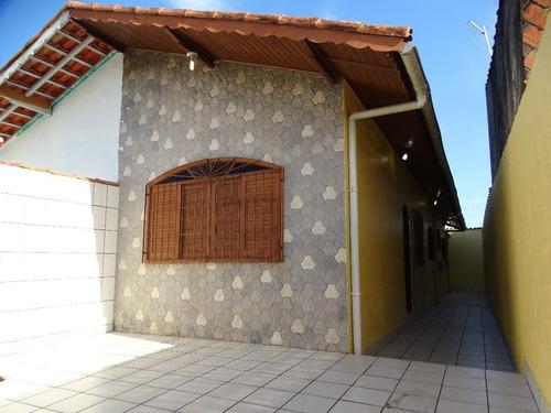 Casa Residencial À Venda, Santa Eugênia, Mongaguá. - Ca0633