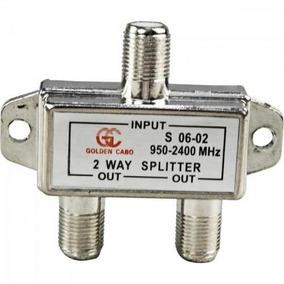 Divisor Satélite 1/2 05 -2400 Mhz Genérico