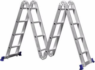Escada Multifuncional (4x4) - 16 Degraus 4,71m Altura Mor