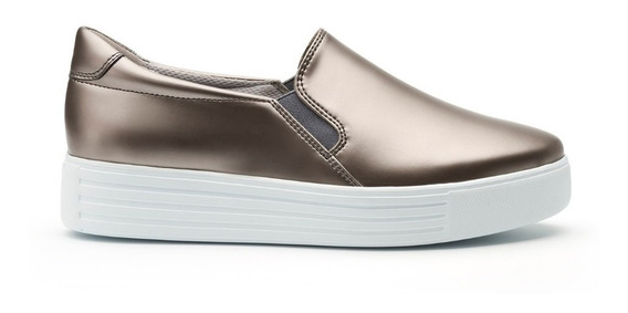 Zapato Tenis Flexi 36304 Plata Casual **últimos Pares**