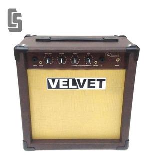 Amplificador De Guitarra Acústica Teclado Y Voces 30w Velvet
