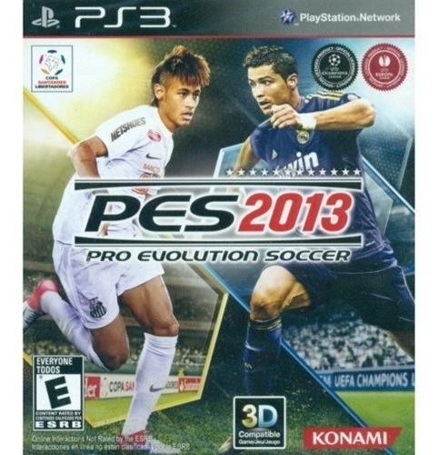 Jogo Pes 2013 Pro Evolution Soccer Ps3 M. Fisica