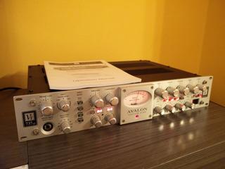 Avalon Vt737 Sp Preamplificador Valvular Compresor + Eq