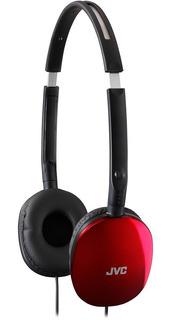 Auriculares Sobre Oido Jvn9wc Has160r Audifonos Rojo