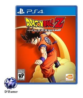 Dragon Ball Z Kakarot Ps4 Aceptamos Mercado Pago ....