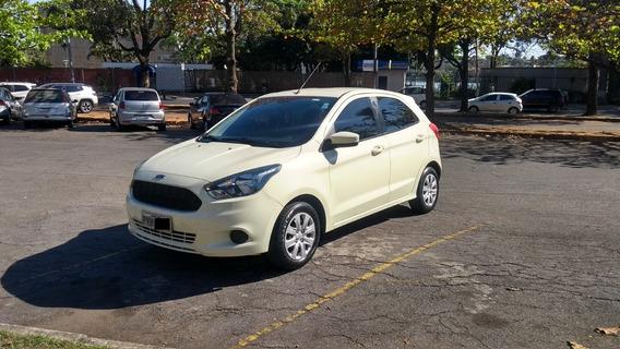 Ford Ka Se 1.0 Hatch Branco Vanilla