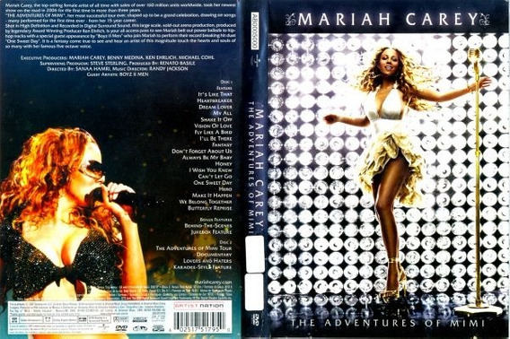 Dvd Mariah Carey The Adventures Of Mimi (duplo)