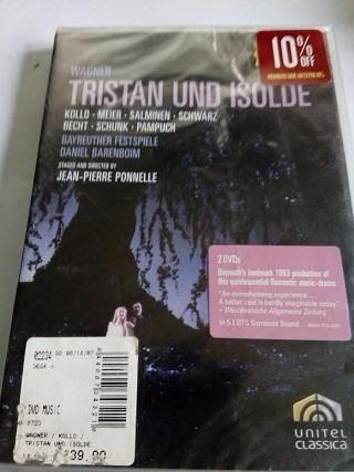 Imagen 1 de 1 de Dvd Wagner Tristan Und Isolde