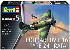 Aviao Polikarpov I-16 Type 24 - Rata 03914 - Revell Alema
