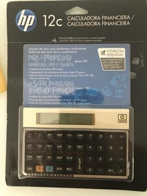 Calculadora Hp 12c Gold - Original