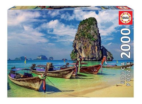Puzzle Rompecabeza 2000 Piezas Krabi Tailandia Educa 18007