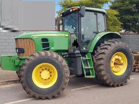Trator Agrícola John Deere 6180 - 2015 - Com Grade