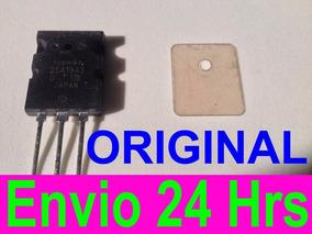 3 X Transistor 2sc5200 + 2sa1943+mica Toshiba Original