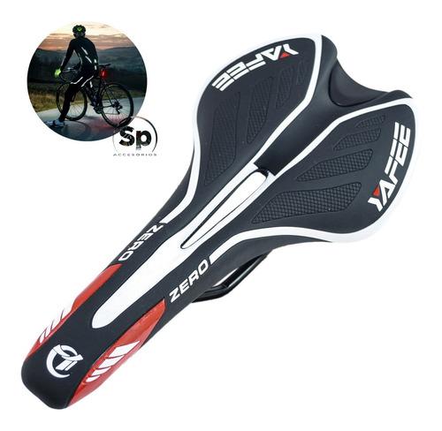 Asiento Para Bicicleta Blanco-negro Sport Antiprostatico Vzr