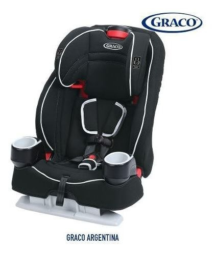Butaca Auto Booster Bebe Graco Atlas De 9 A 45 Kg Latch