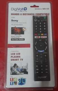 Control Remoto Original Sony Smart Tv