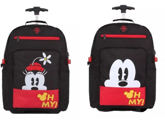 Kit Mochilete Minie+mochilete Mickey 51922 Original