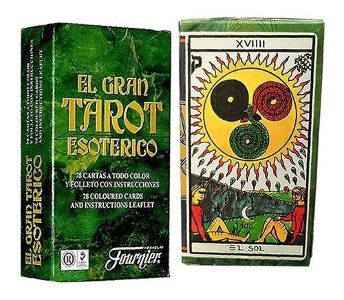 Baraja De Tarot Español 78 Cartas Españolas Leer Cartas