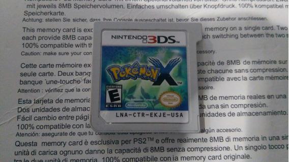 Pokemon X Para Nintendo 3ds Original