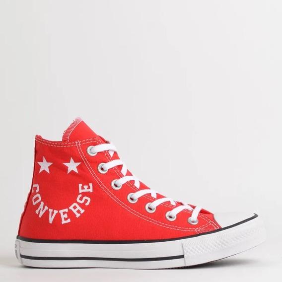 Tênis Converse All Star Vermelho Ct13180002 Original