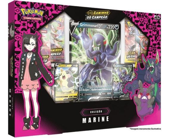 Box Pokémon Coleção Marine - Caminho Campeão Ee 3.5