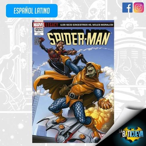 Imagen 1 de 2 de Comic Los Seis Siniestros Vs Miles Morales Spiderman Marvel