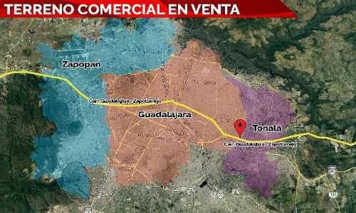 Terreno Comercial En Venta En Guadalajara