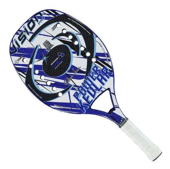 Raquete Beach Tennis Vision Power Kevlar 50 - 2019