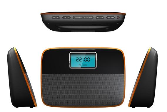 Caixa Bluetooth Com Radio E Relógio Roadstar