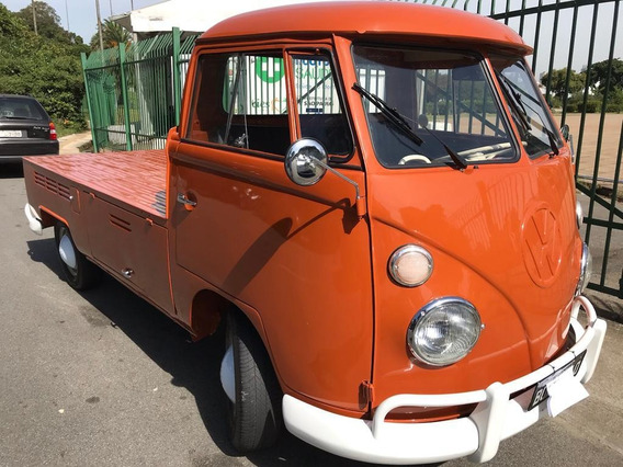 Vw Bus Kombi Pick Up 1973 Original Raridade