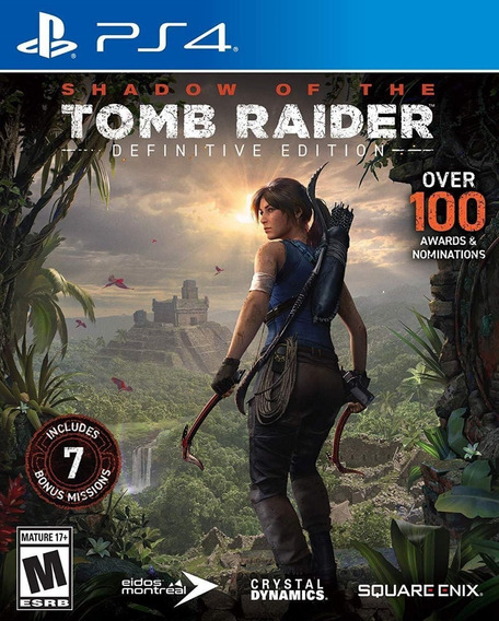 Shadow Of The Tomb Raider Ps4 Mídia Física (novo) Dublado