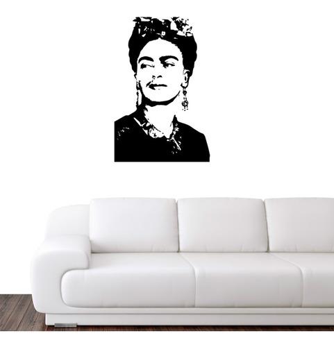 Vinilo Decorativo Frida Kahlo, Decoración Frase, Pared Hogar