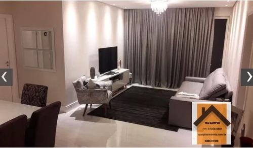 Apartamento A Venda No Bairro Tamboré Em Santana De - Vpboul03-1